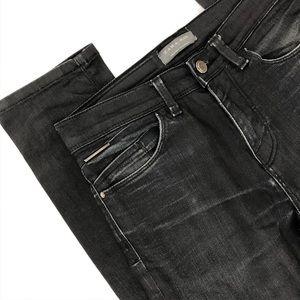 My black Zara Man boyfriend jeans